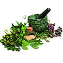 Prodotti per i capelli e per il corpo alle erbe
