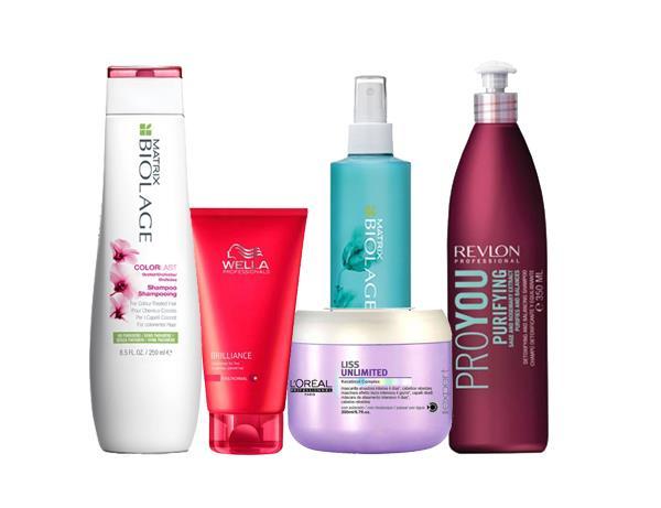 Shampoo, conditioner e trattamenti professionali