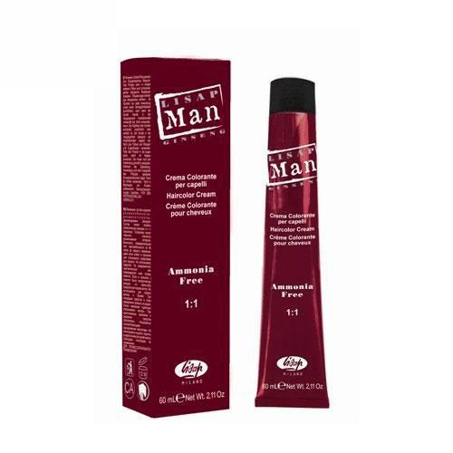 Lisap Man Color 60ml la colorazione per l'uomo