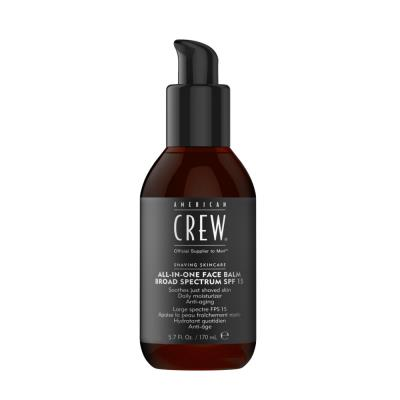American Crew All in One Face Balm Broad Spectrum SPF15 170ml