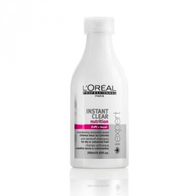 l'Oreal Instant Clear Nutrition Shampoo antiforfora 250ml
